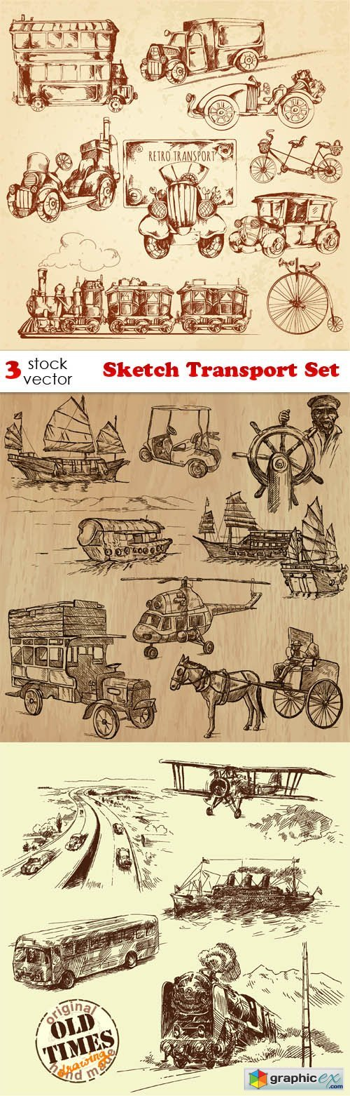 Sketch Transport Set