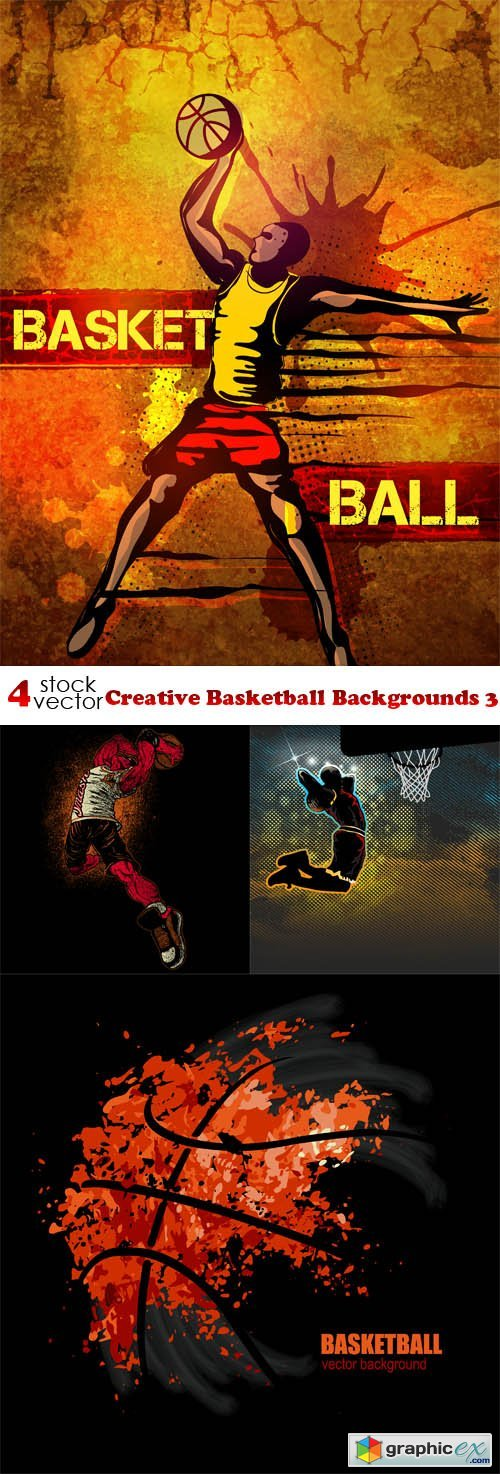 Creative Basketball Backgrounds 3