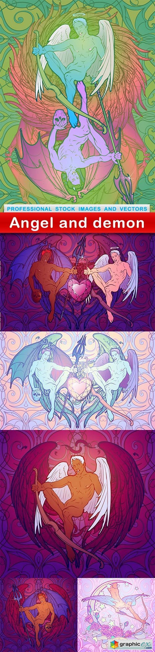 Angel and demon - 6 EPS
