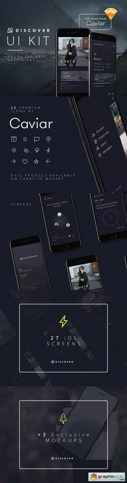 Discover UI Kit iOS