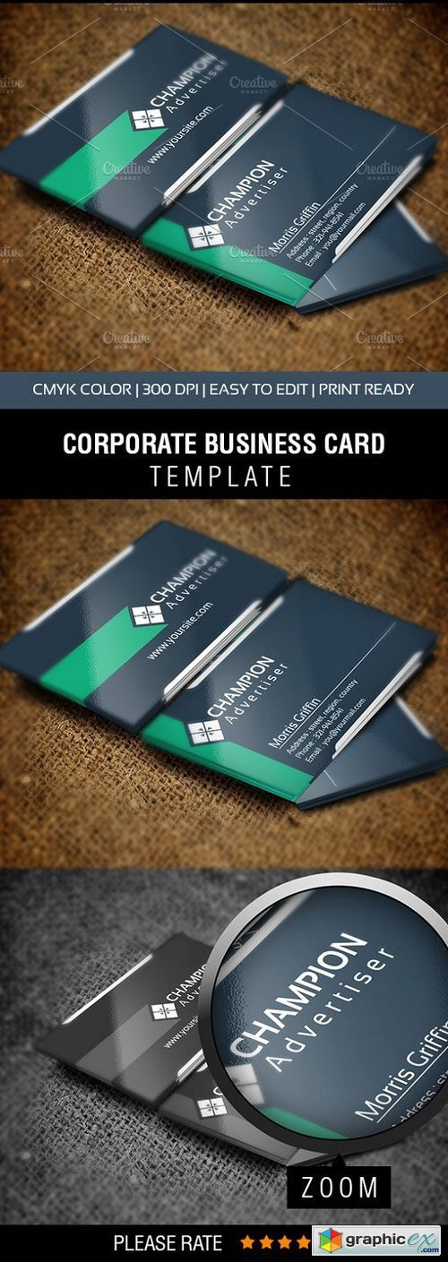 Champion Business Card