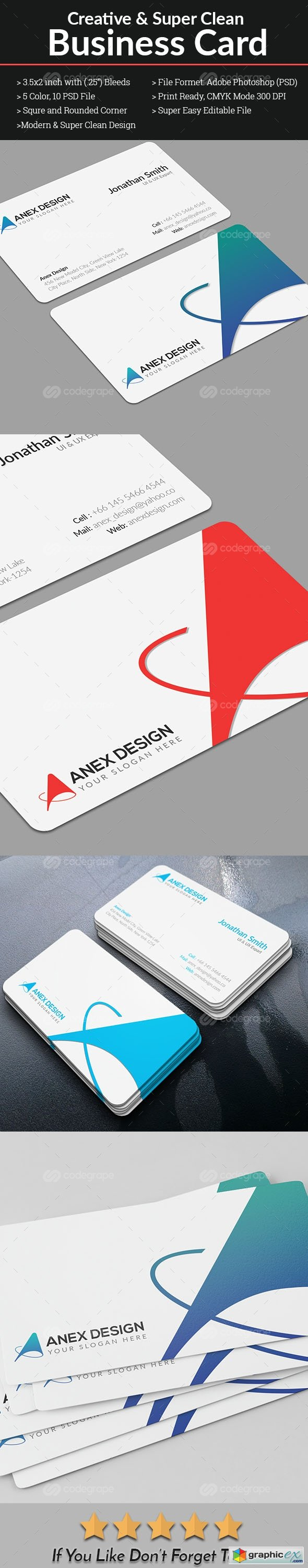 Corporate Business Card 10694