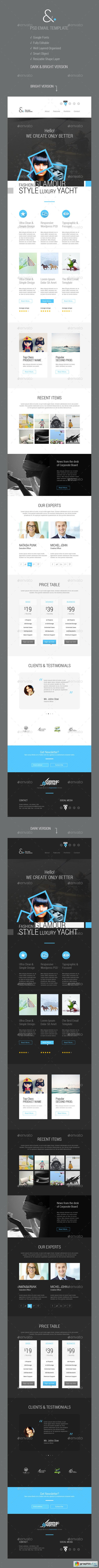 Corporate Email Template » Free Download Vector Stock Image ...