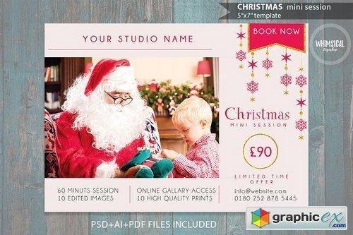 Christmas Mini Session Template 1002055