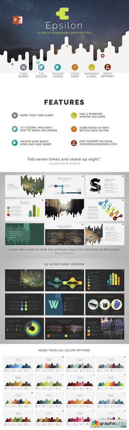 Epsilon | Powerpoint Template