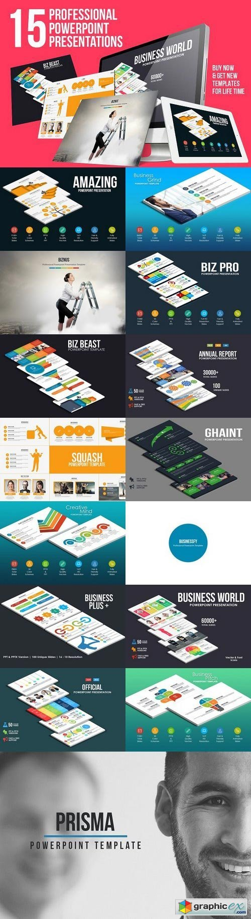The Professional Presentation Bundle 1106885