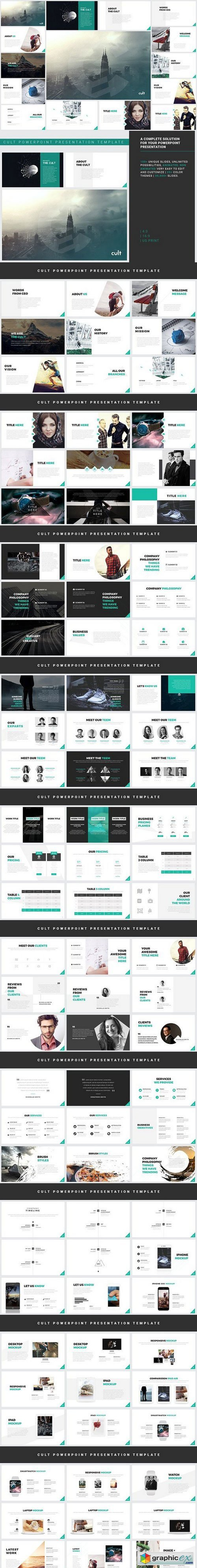 Powerpoint Template - Cult
