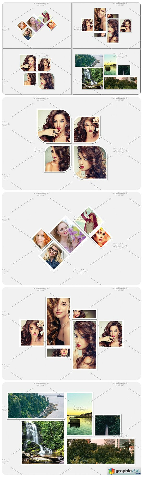 Photo Collage Template-V464