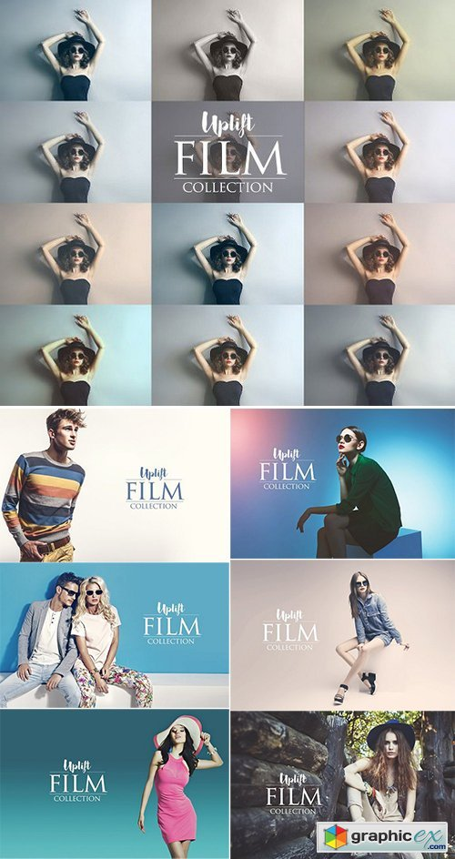 Uplift FILM Collection for Photoshop