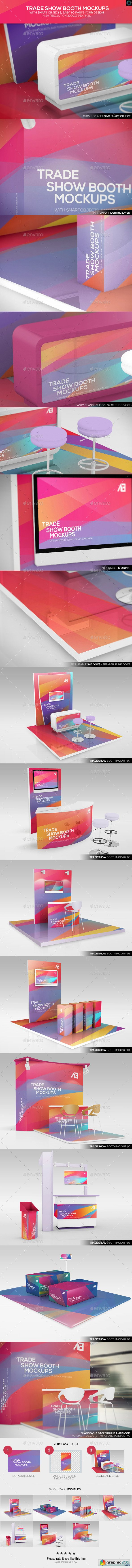 Trade Show Booth Mockups 11139823
