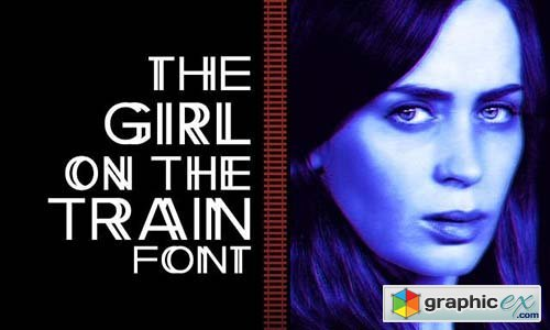 The Girl on the Train font