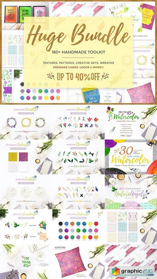 Handmade Arts HUGE BUNDLE