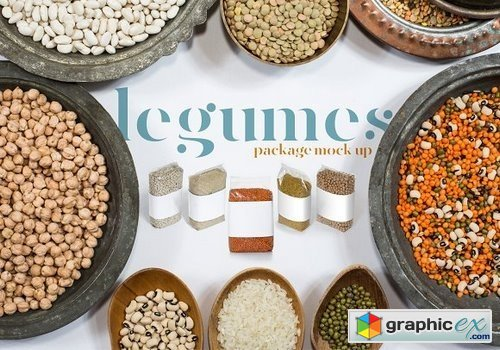Legumes Packages Mockup