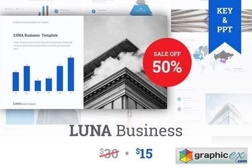 Luna Business Company Theme