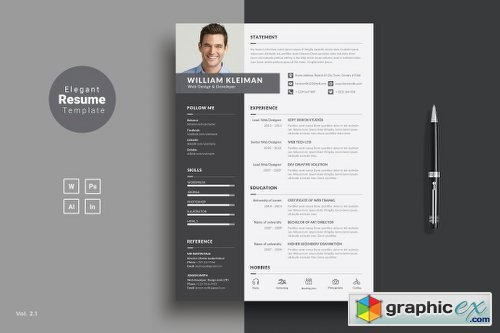 resume cv 1148171 free download vector stock image photoshop icon