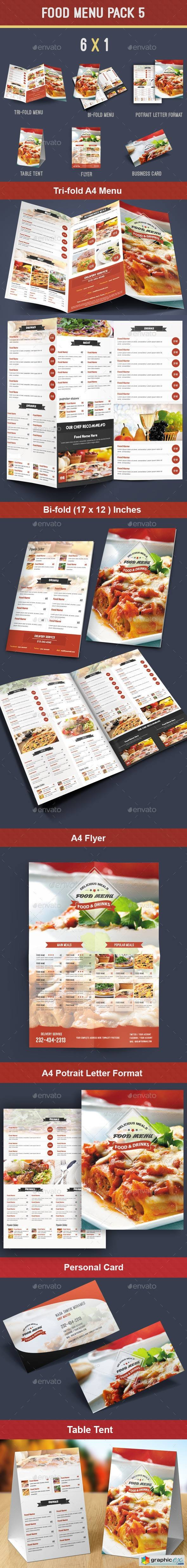 Food Menu Pack 5