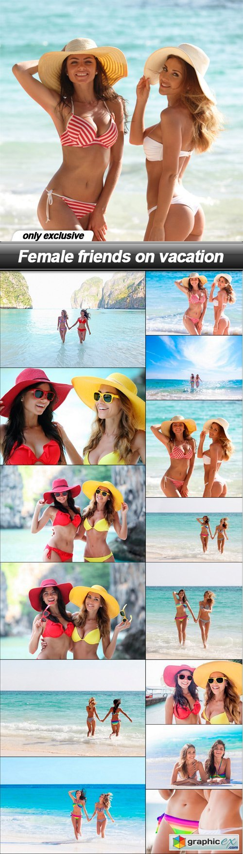 Female friends on vacation - 14 UHQ JPEG