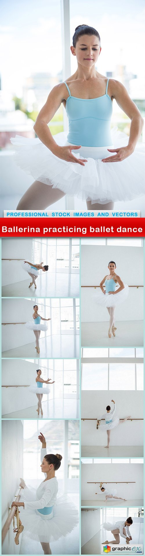 Ballerina practicing ballet dance - 9 UHQ JPEG