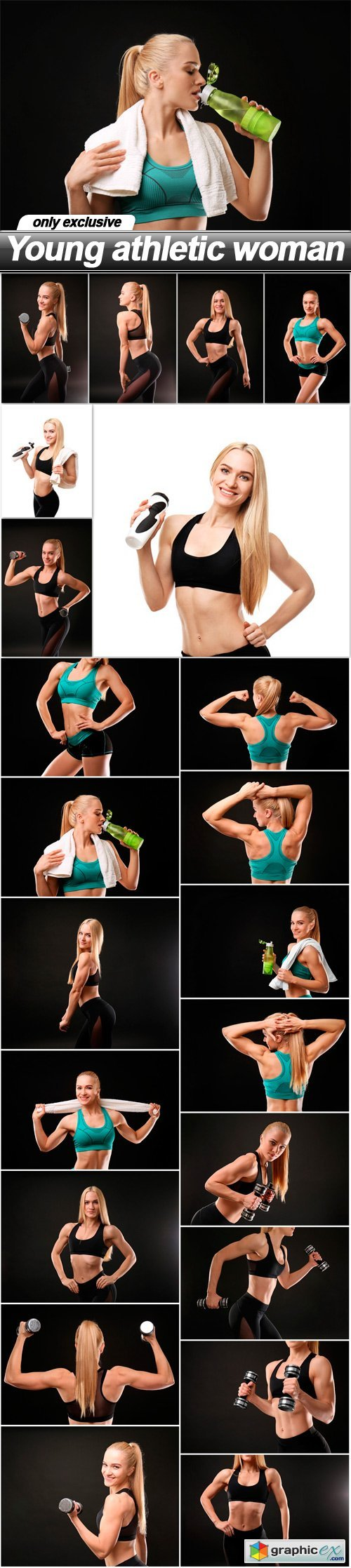 Young athletic woman - 22 UHQ JPEG