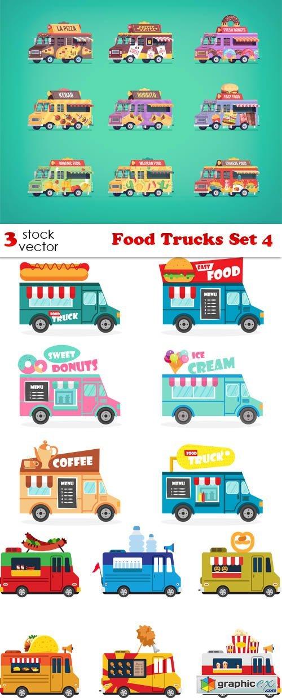 Food Trucks Set 4