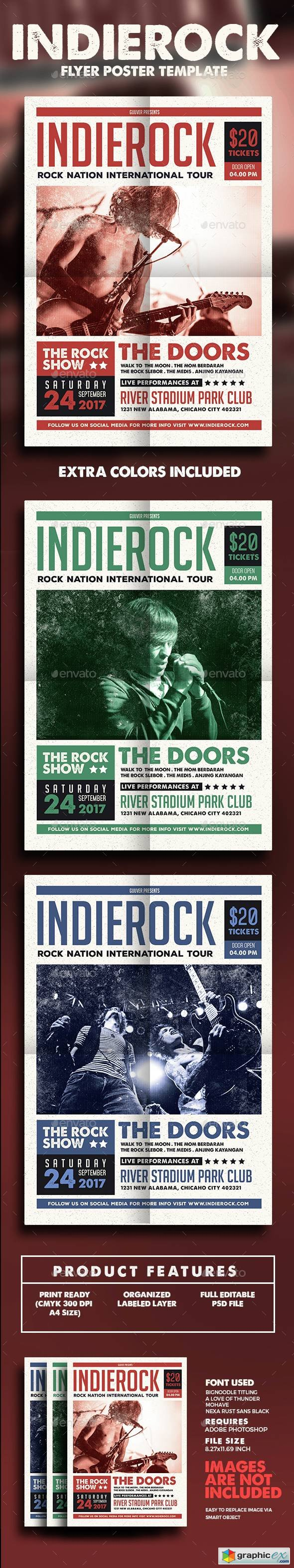 Indie Rock Flyer/Poster