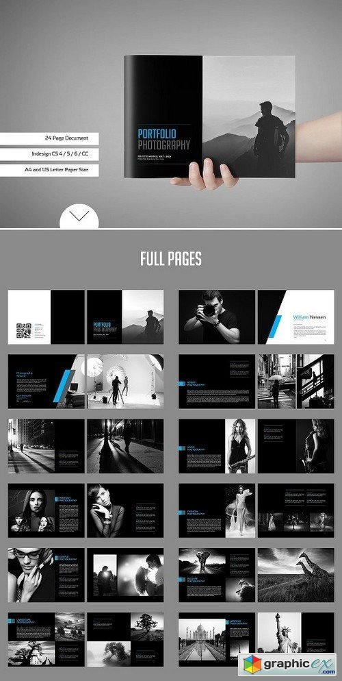 Photo Album Template Bundle