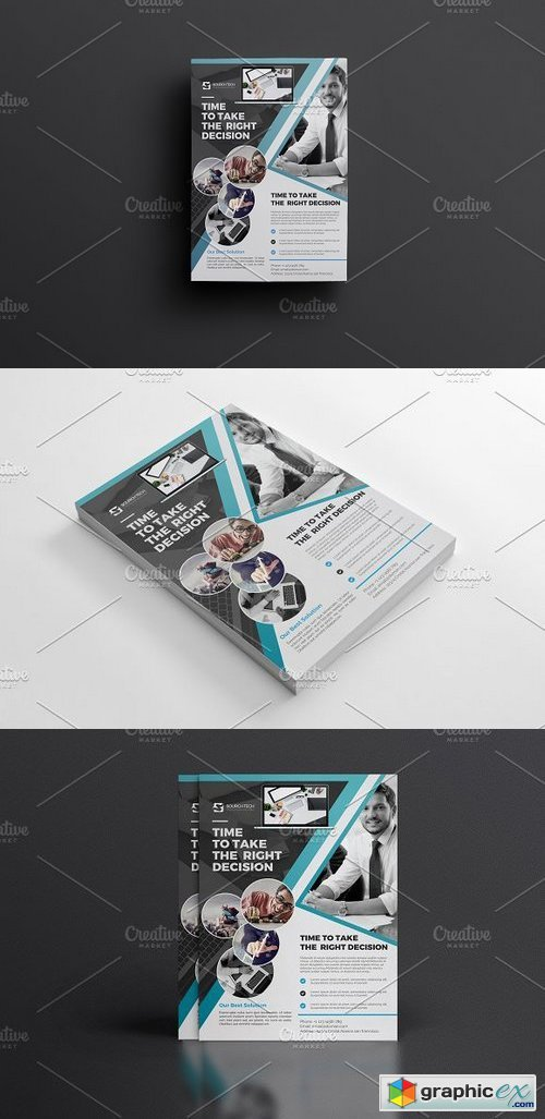 Corporate Flyer Template 1133372