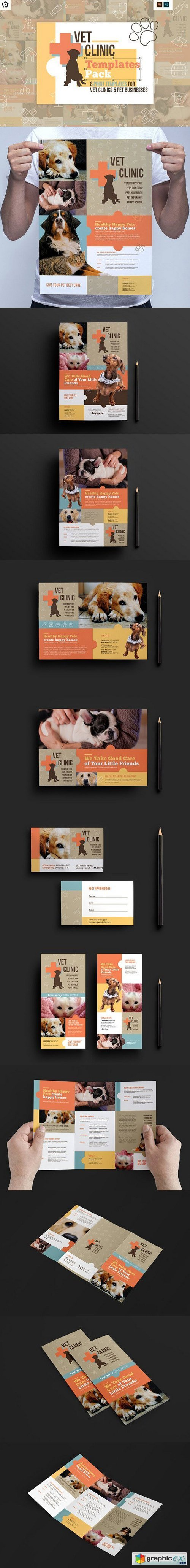 Vet Clinic Templates Pack