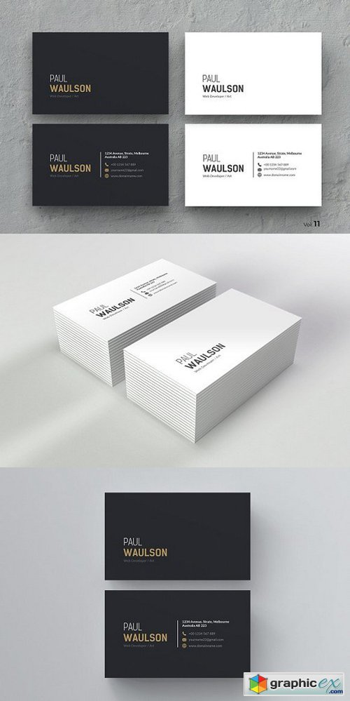 Clean Business Card 984347