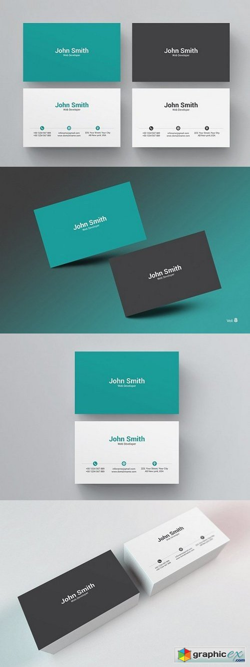 Clean Business Card 984245