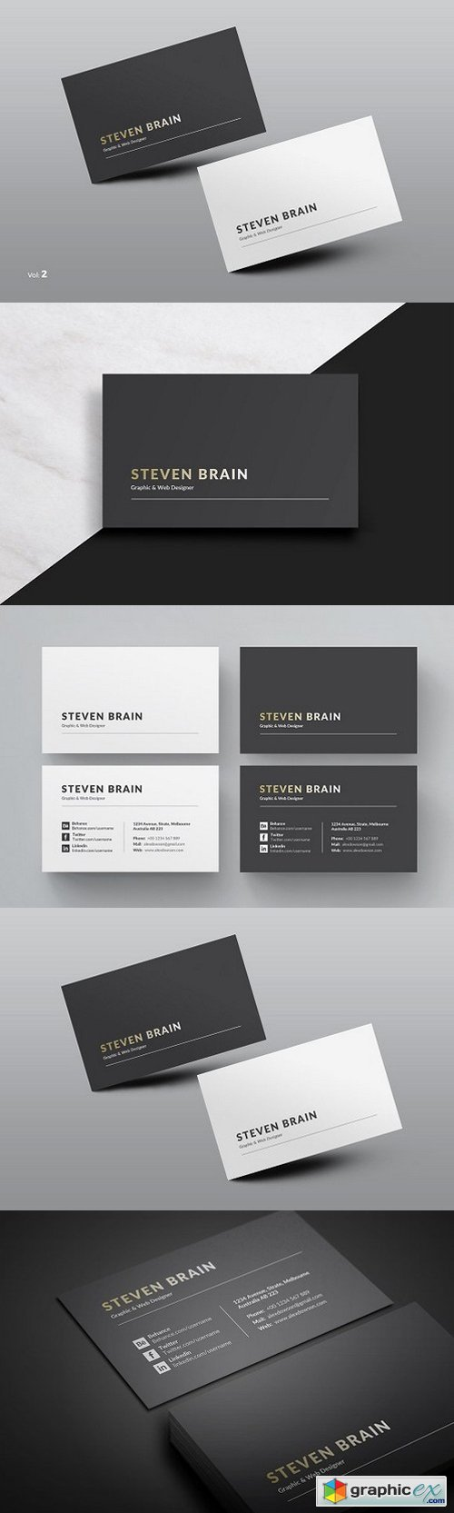 Clean Business Card 939625