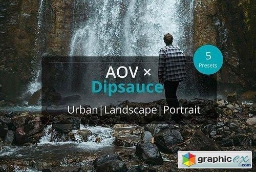 AOV x Dipsauce Lightroom Presets/Adobe Camera Raw » Free