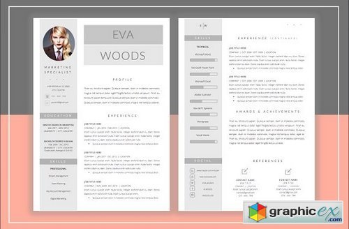 Resume Template & Cover Letter 359274