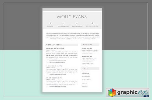 Resume Template & Cover Letter 359232