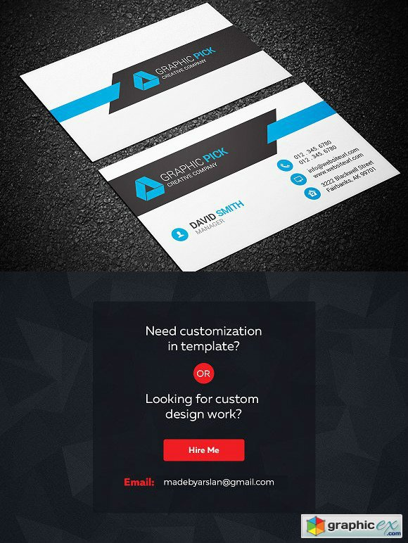 Modern Business Card Template 1244136
