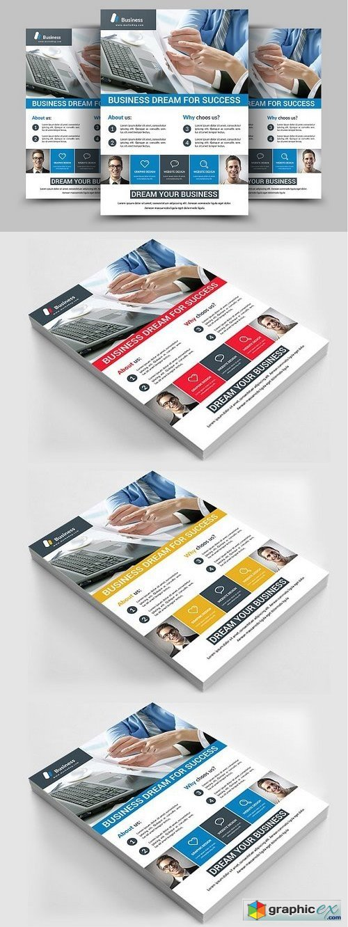 Corporate Flyer Template 1103085