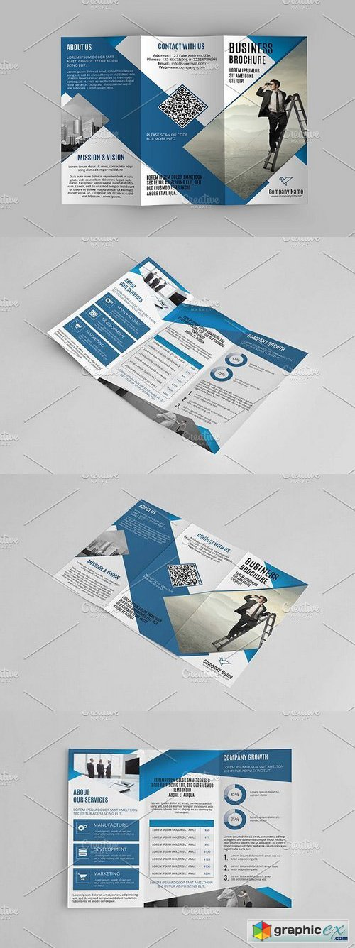 Trifold Corporate Brochure-V637