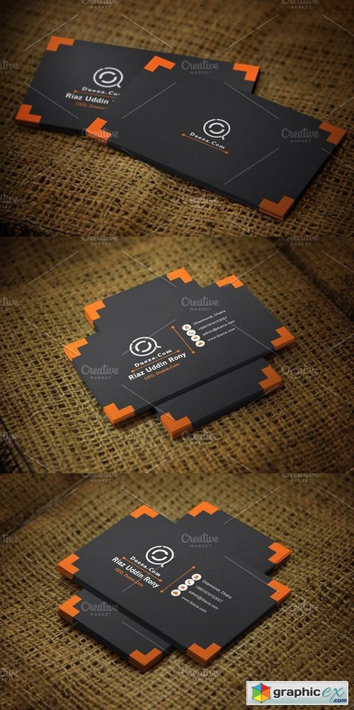 Ornat Business Card Template