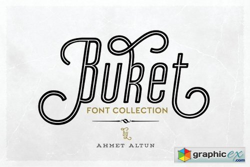 Buket Font Collection -84%off