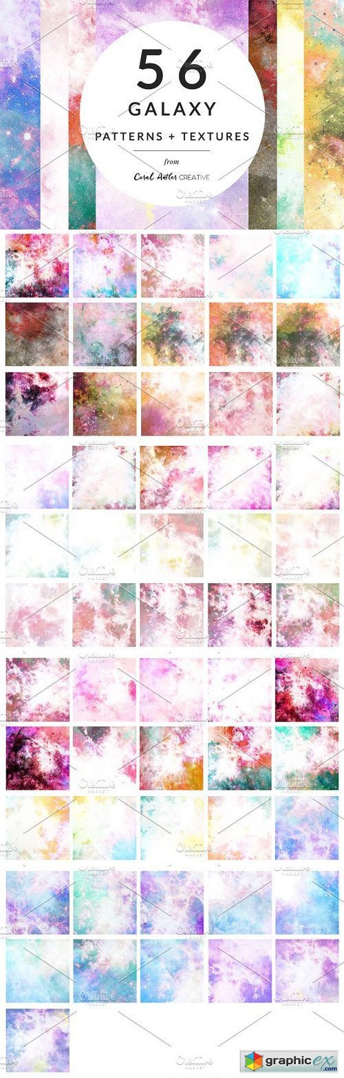 Galaxy Patterns Pack