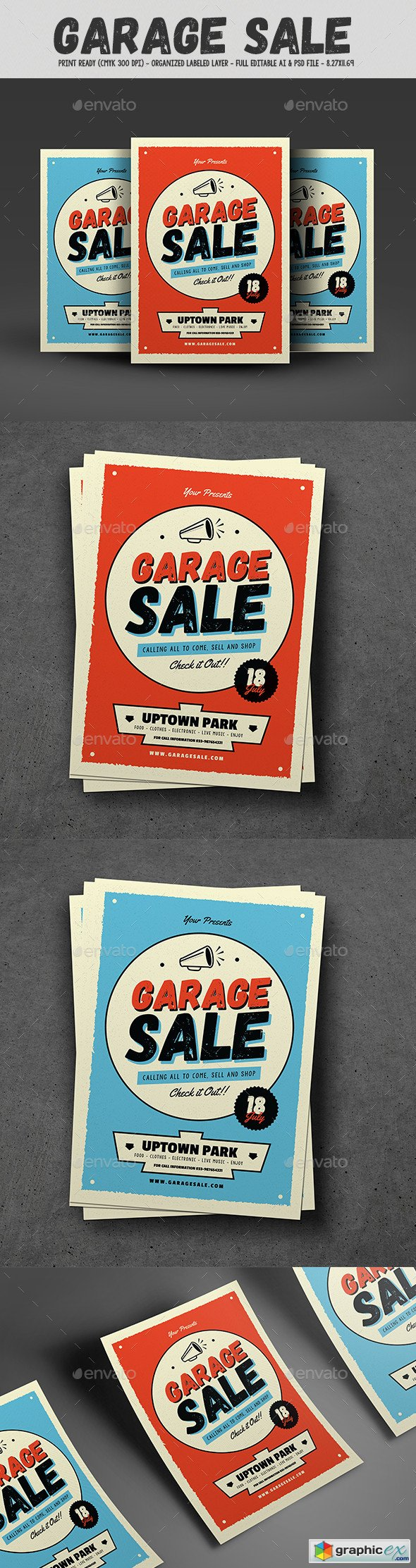 Garage Sale Flyer by Guuver 16683065