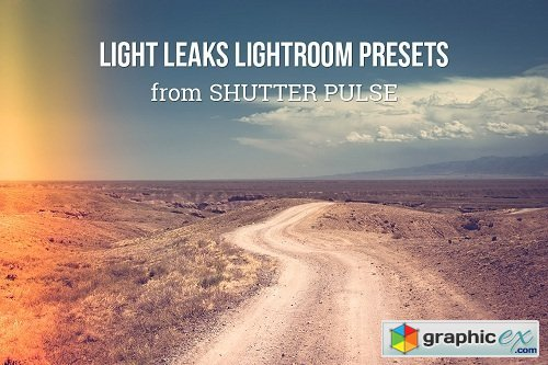 Shutter Pulse - Light Leaks Lightroom Presets