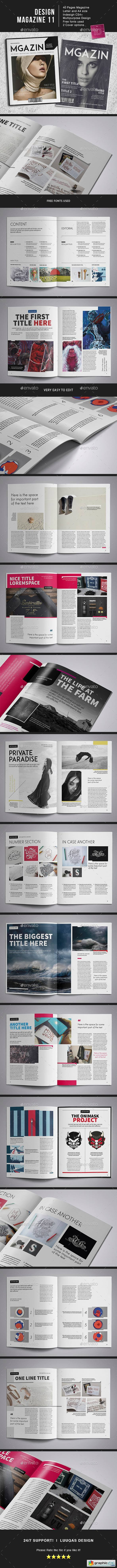 Design Magazine 11 Template
