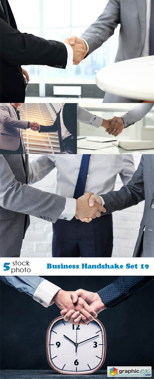 Business Handshake Set 19
