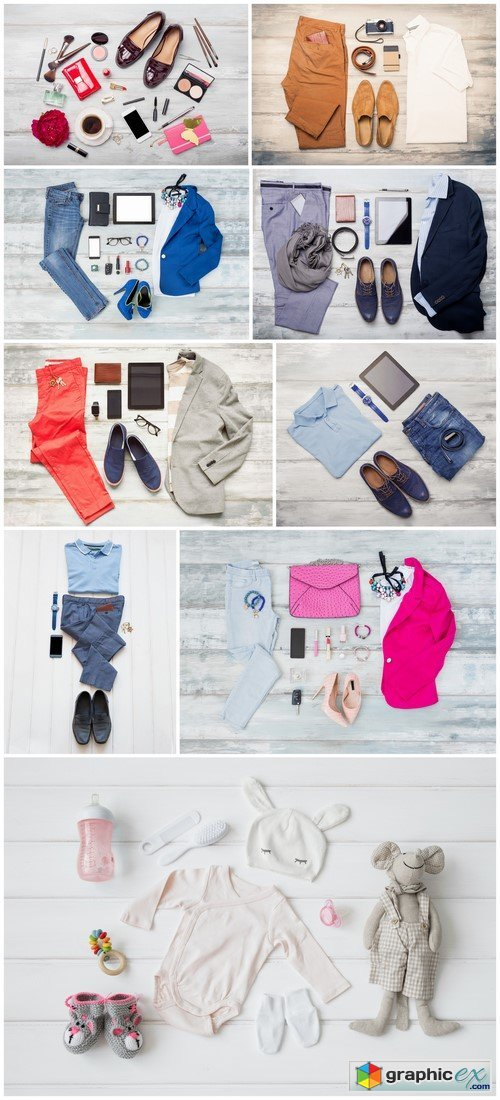 Stylish clothing for women and men 9X JPEG