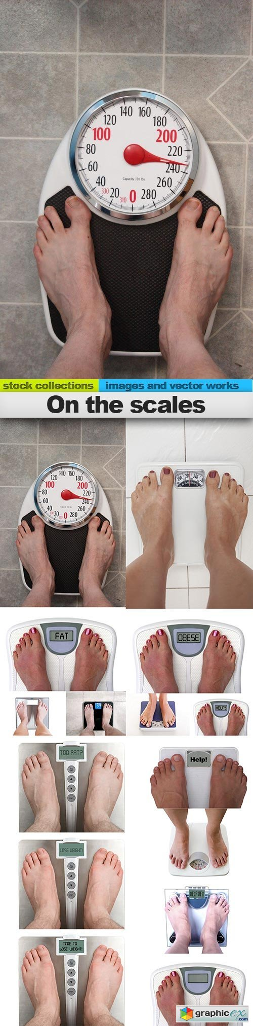 On the scales, 15 x UHQ JPEG