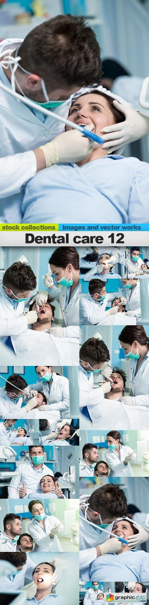 Dental care 12, 15 x UHQ JPEG