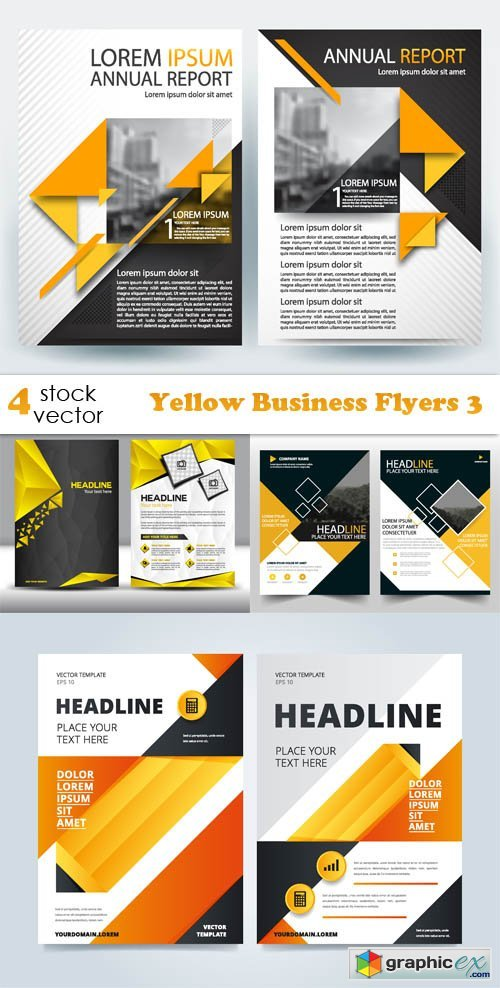 Yellow Business Flyers 3