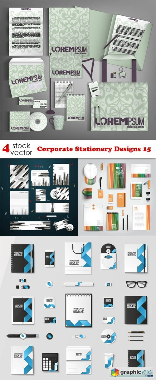 Corporate Stationery Designs 15