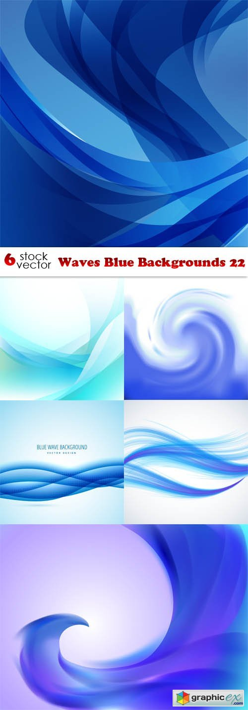 Waves Blue Backgrounds 22